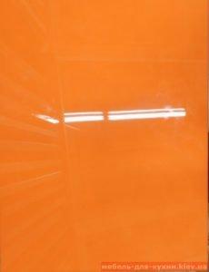 оранжевый кухонный фасад