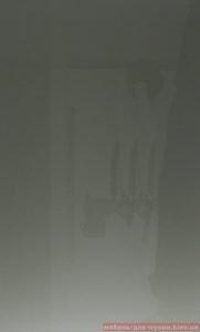 глянцевый серый пластиковый фасад