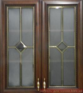 мебельные фасады со стеклом