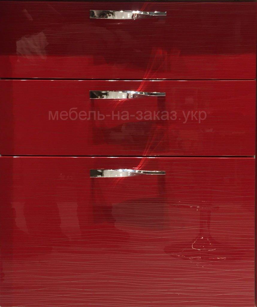 мебель красного цвета глянец