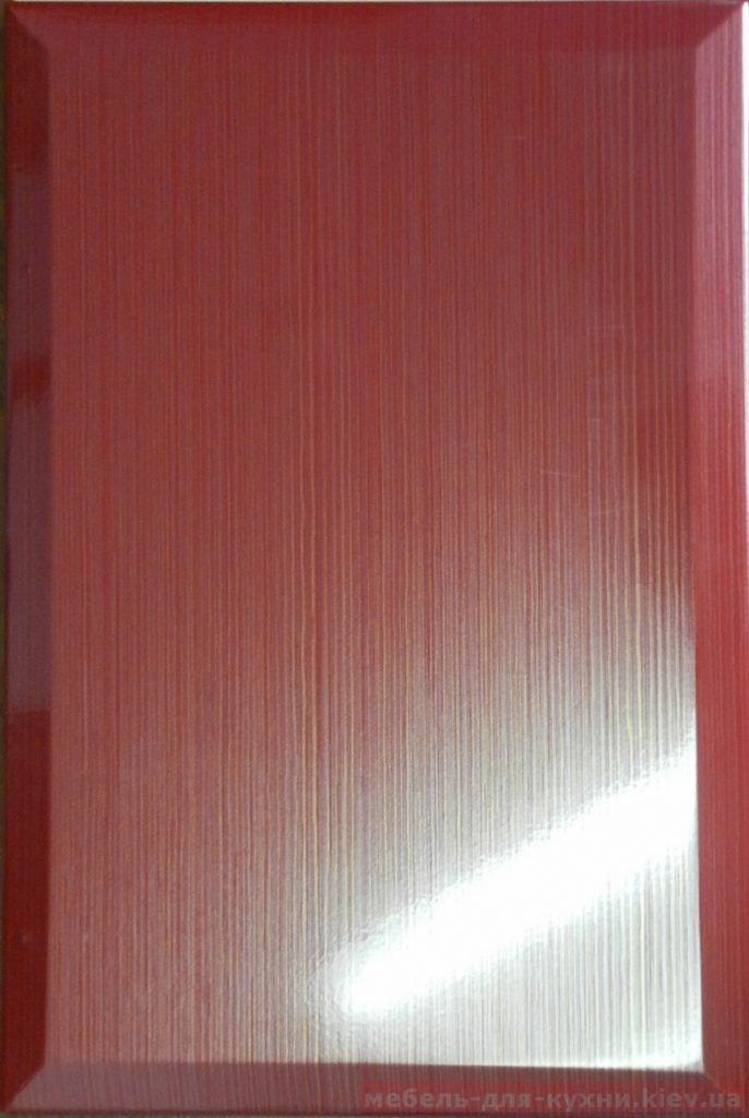 красный матовый формы мдф фасадов для кухни
