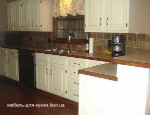кухня из дерева на заказ