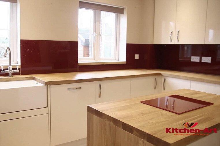 стоимость кухни с фотопечатью на заказ под заказ Киев