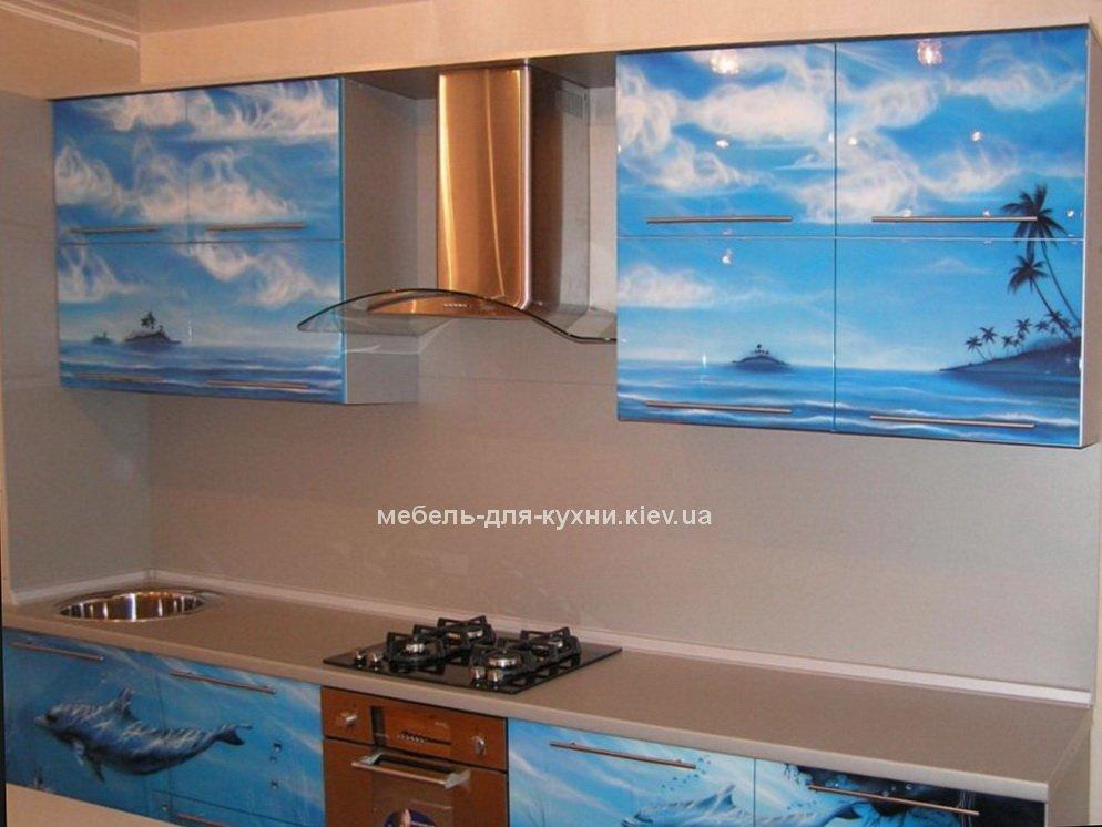 кухня с фотопечатью БУча