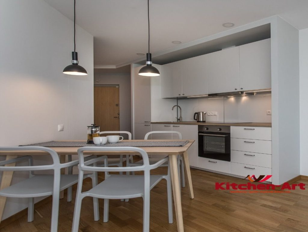 мебель для кухни прямой формы