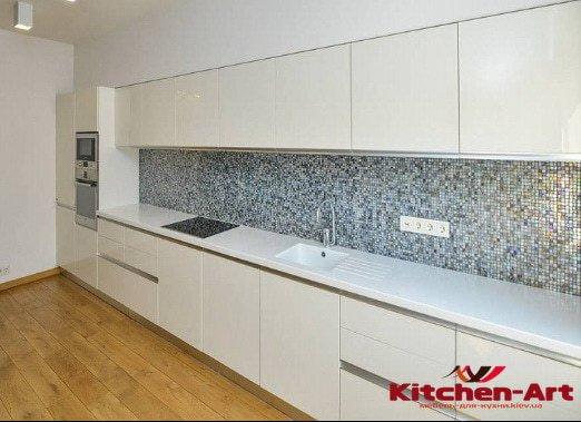 эксклюзивная прямая кухня с ДСП под заказ Киев