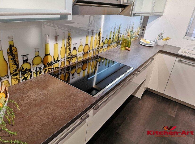 кухня с фотопечатью на заказ в Борисполе