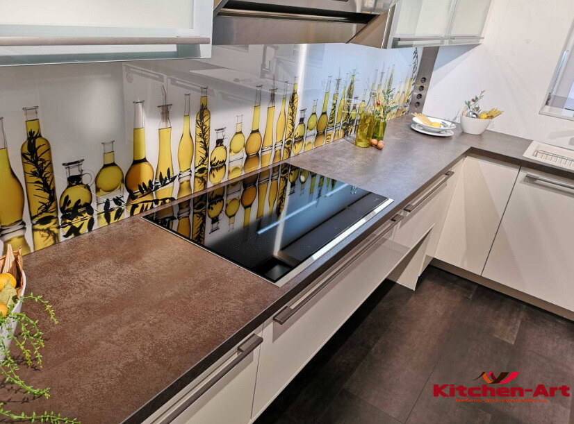 кухня с фотопечатью на заказ