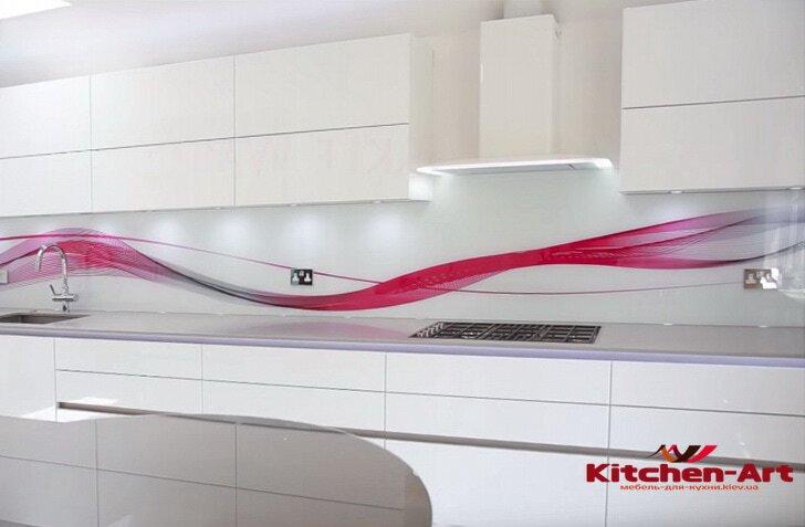 фотопечать на кухонном фартуке на заказ