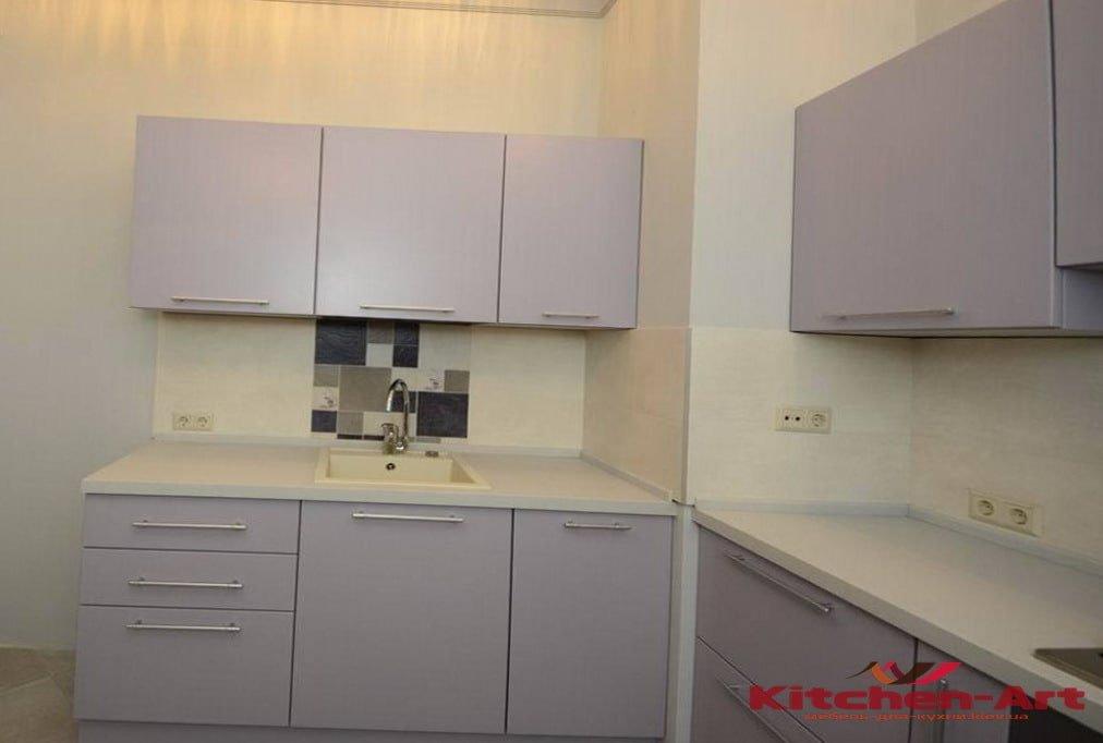 сложная конструкция кухни