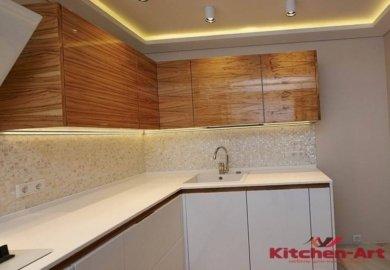 Кухня с подсветкой на заказ