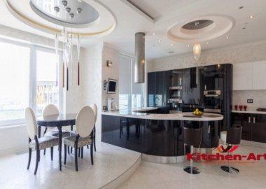 круглая кухня под заказ Киев