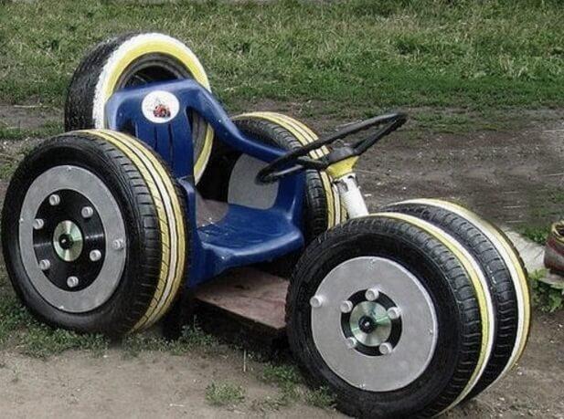 Машины из шин