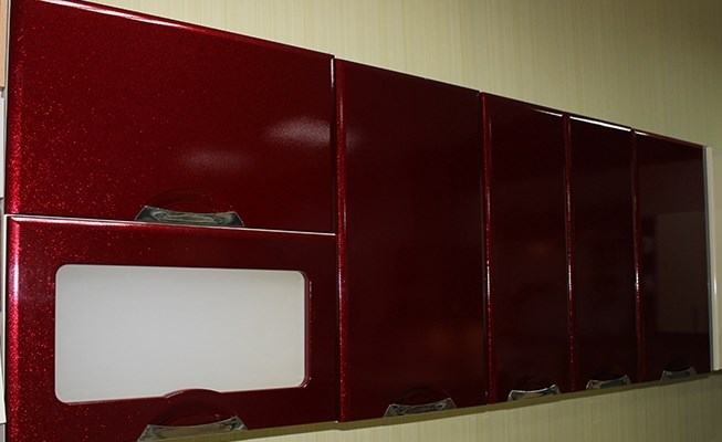 мебель красного цвета на заказ
