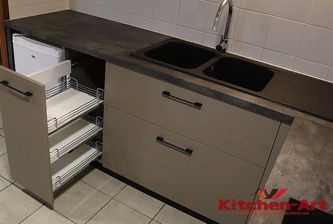 бетонная кухонная столешница