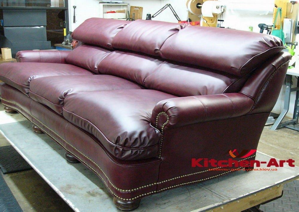 красный диван под заказ в Киеве