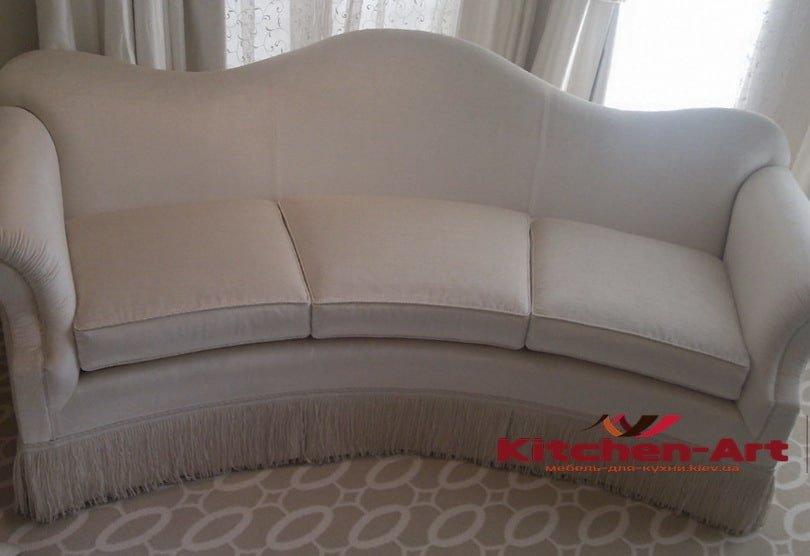 полукруглый элитный диван