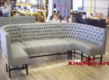 элитный п образный диван