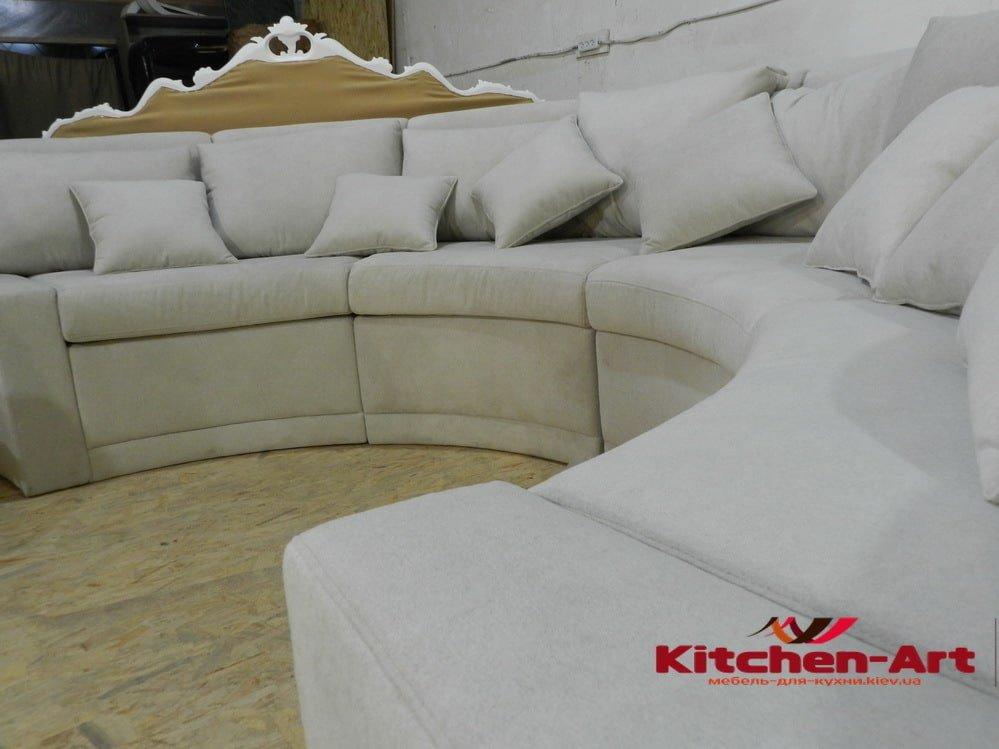 круглый диван под заказ