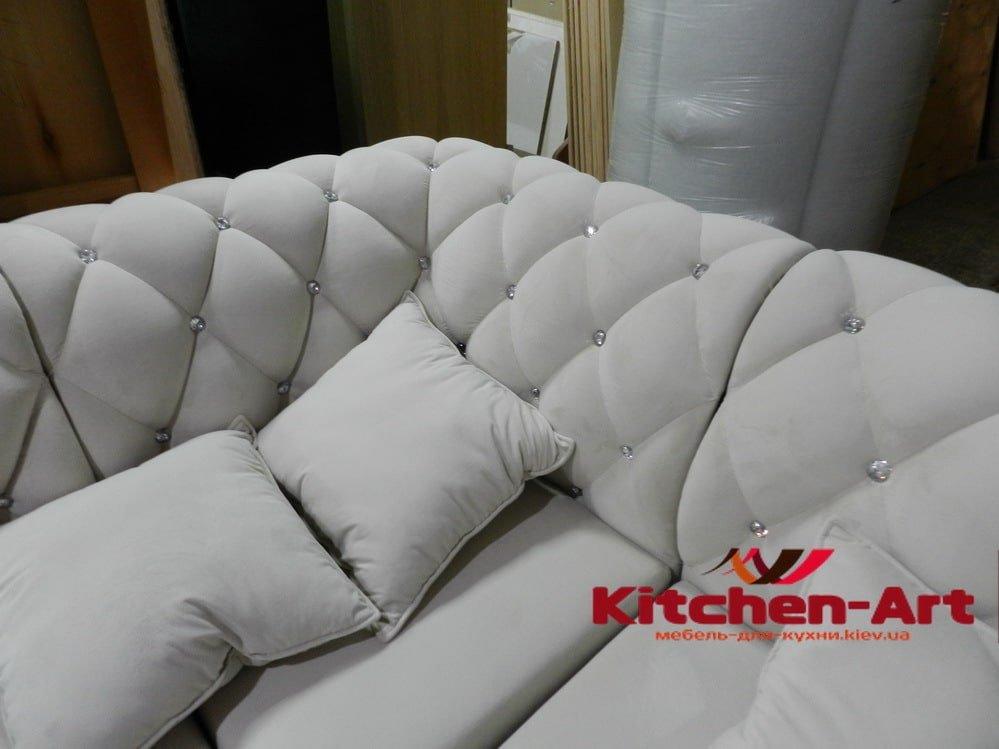 мягкий уголок в кухню на заказ КИев