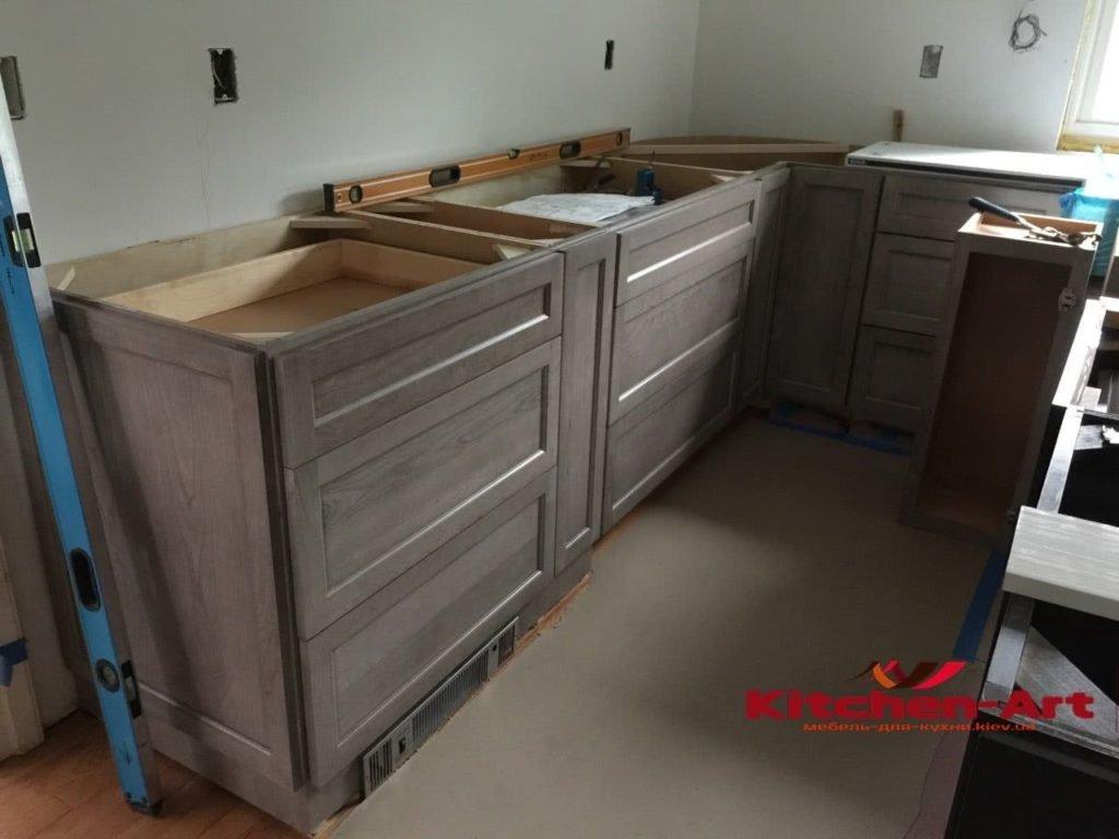 нова елітна кухня на замовлення для дому
