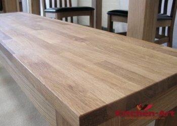 деревянная кухня лофт