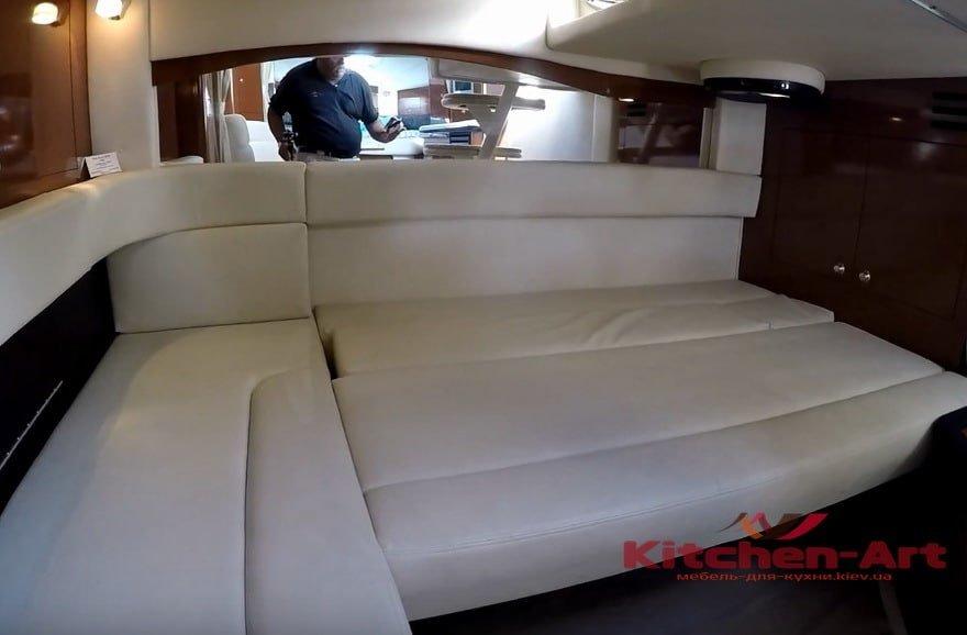 раскладной диван для яхты