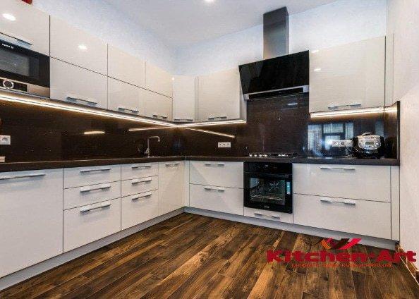 дизайнерские угловые кухни