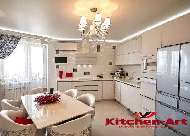 элитная угловая кухня под заказ в городе Ирпень