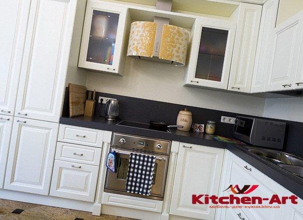 кухонная мебель глянец мдф