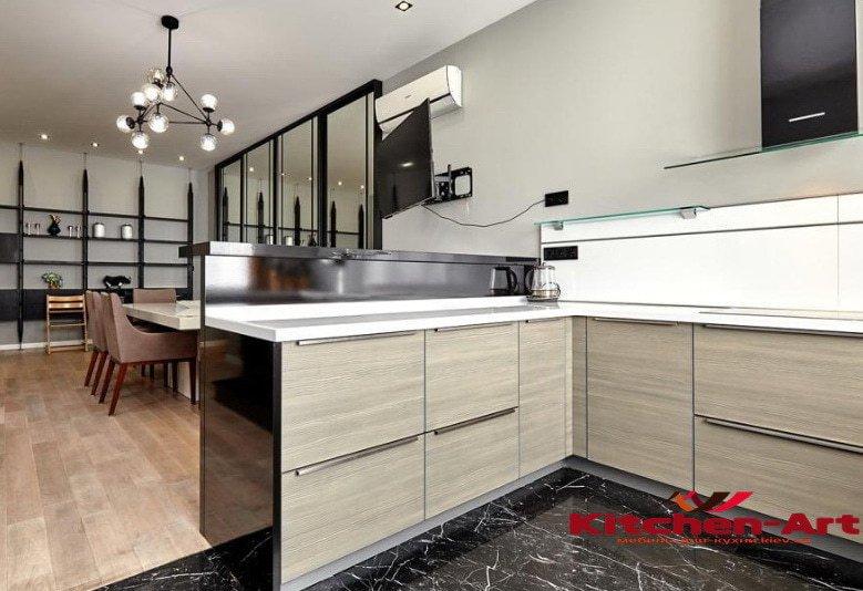 кухонная мебель на заказ Вишневое