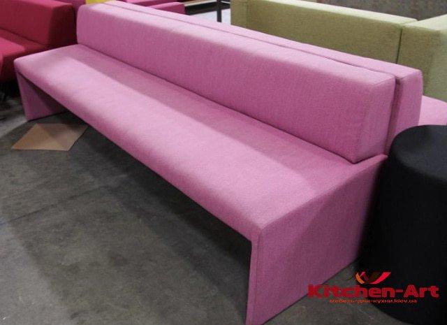 прямой диван для кафе на заказ