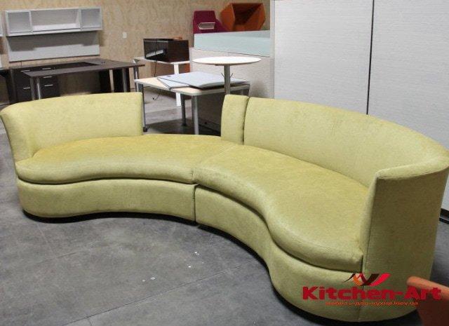 дизайнерский круглый диван