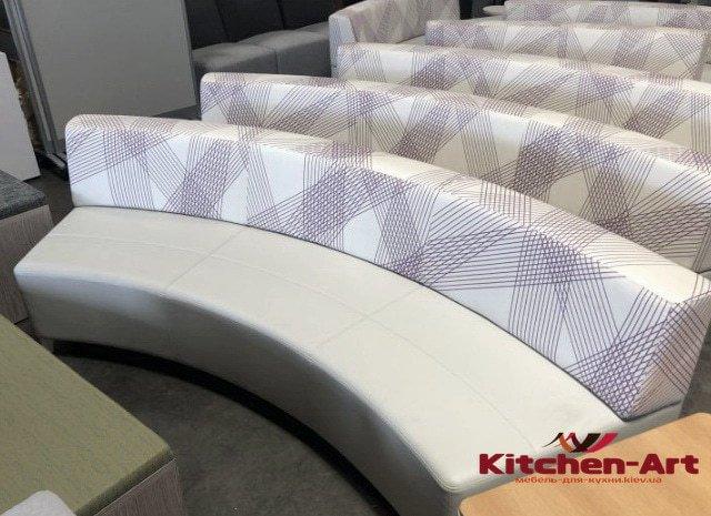 радиусная мягкая мебель на заказ