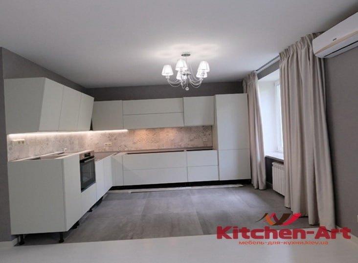 деревянная кухня loft на заказ в Борисполе