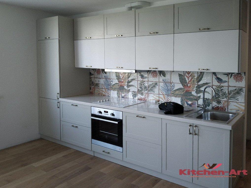 белая кухня из мдф