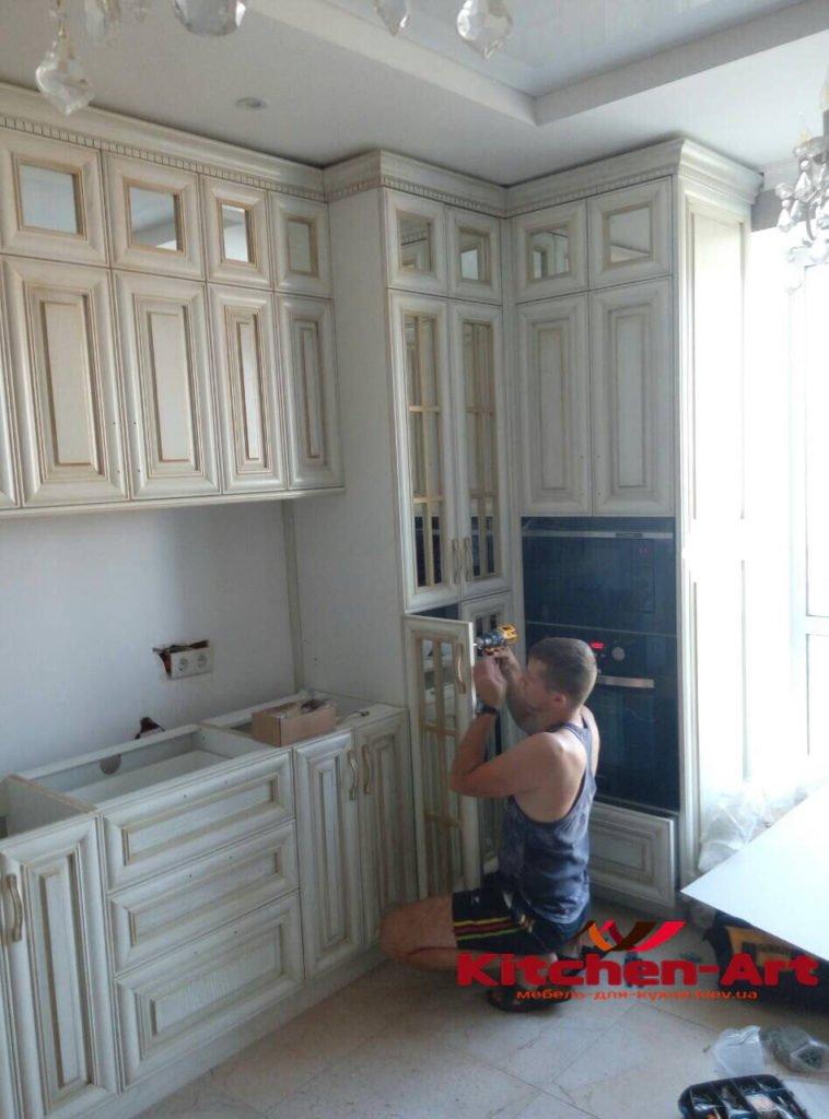 кухня из дерева под заказ Киев