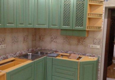 кухня из дерева под заказ Ирпень