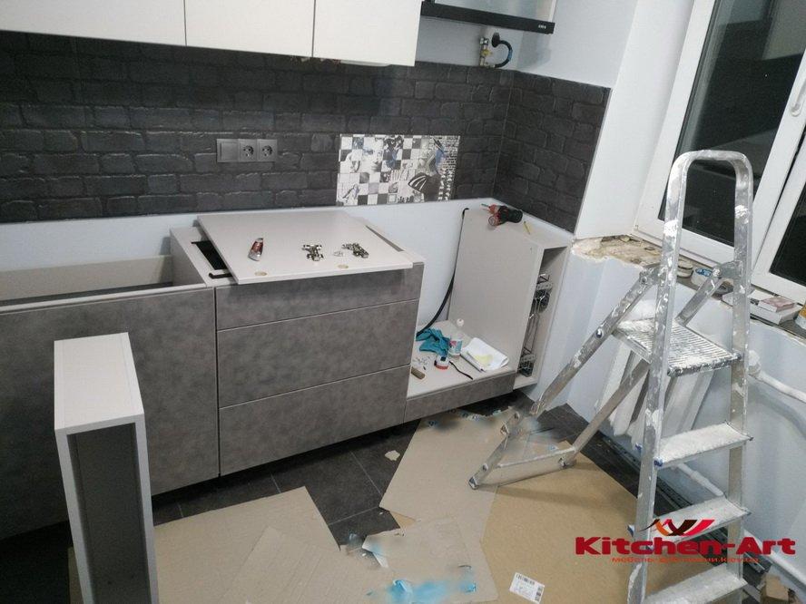 мебель в маленькую кухни под заказ в Киеве