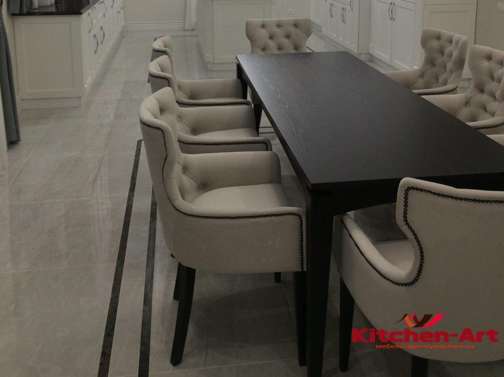 Мягкие кресла для кхни на заказ в Киеве