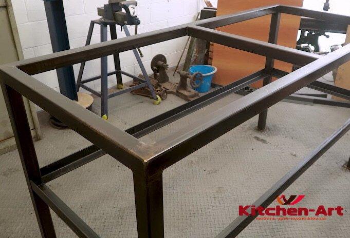 изготовление металлической основы столалофт