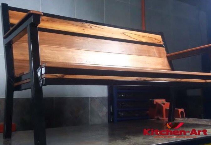 мебель в стиле лофт из дерева и металла под заказ