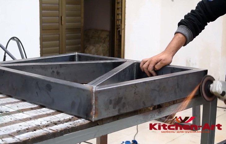 основа мебели лофт