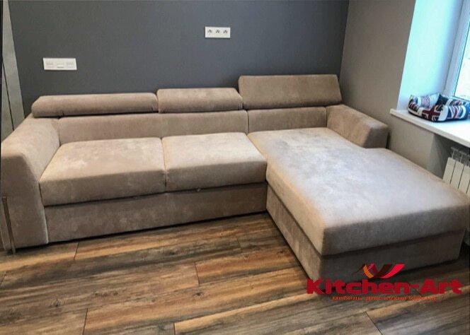 бескаркасный диван на заказ