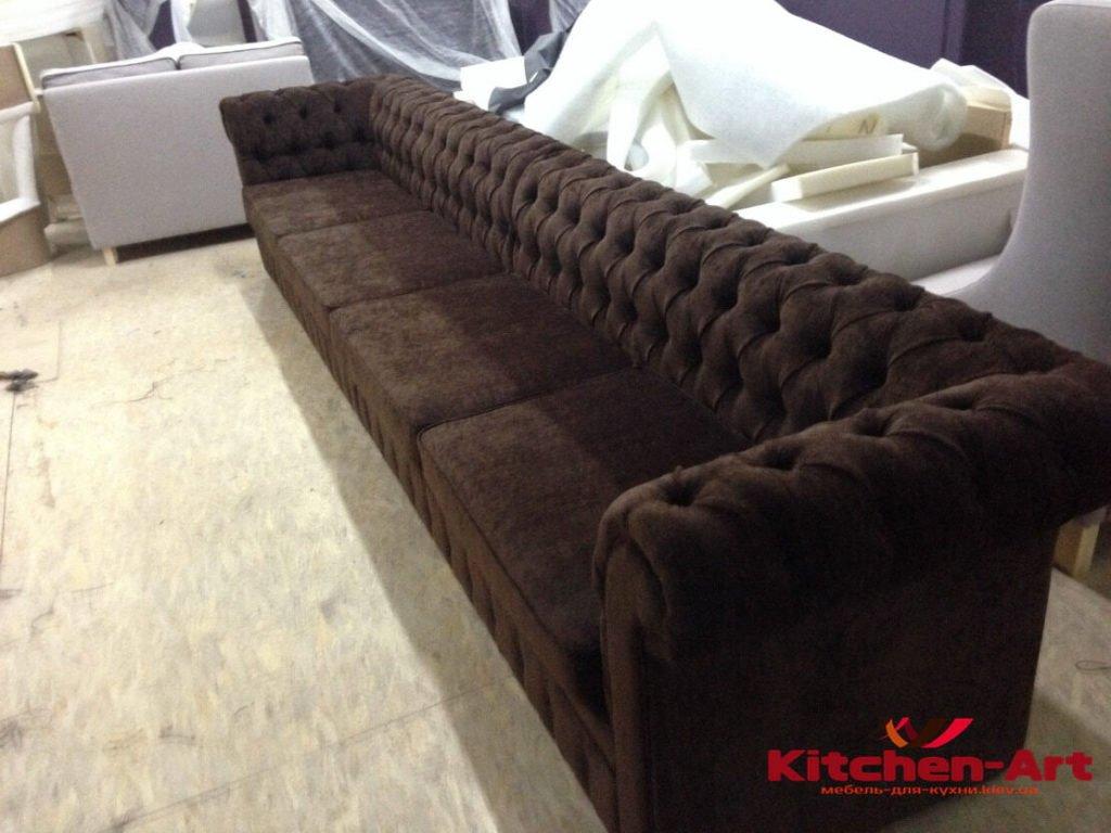 длянный диван под заказ