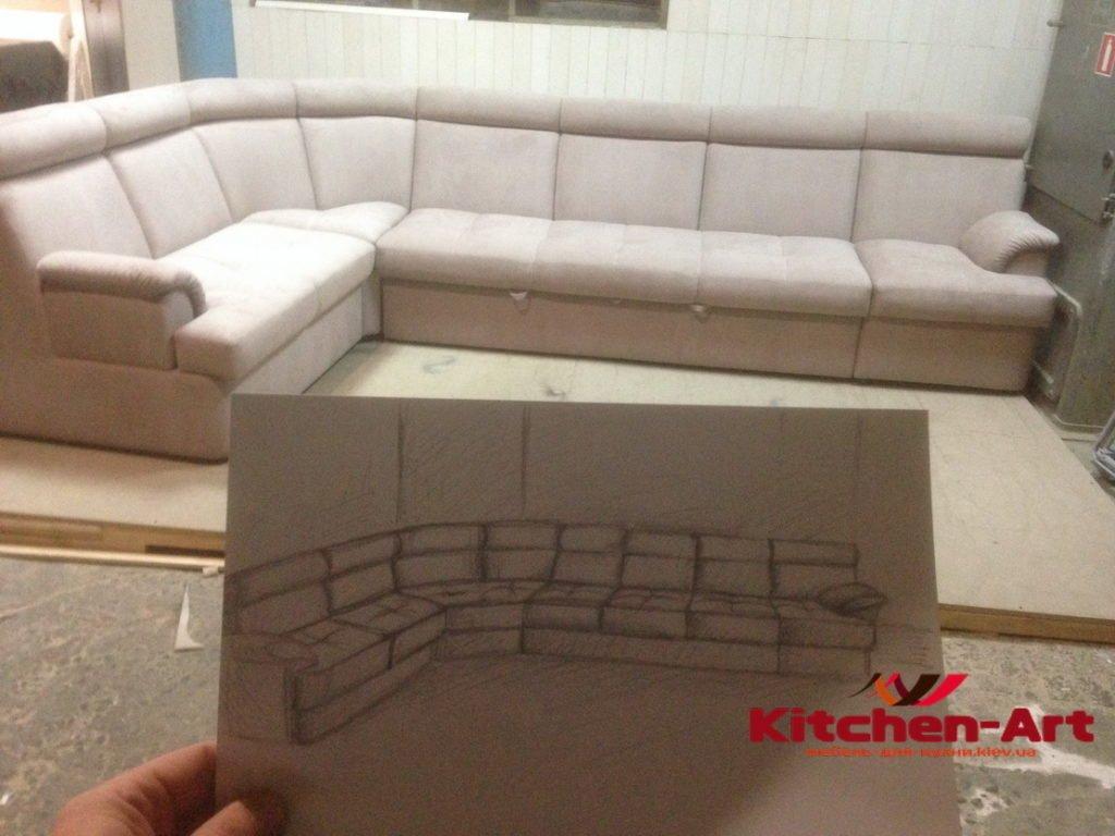 проект дивана и его реализация