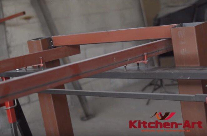 основа мебели лофт из металла