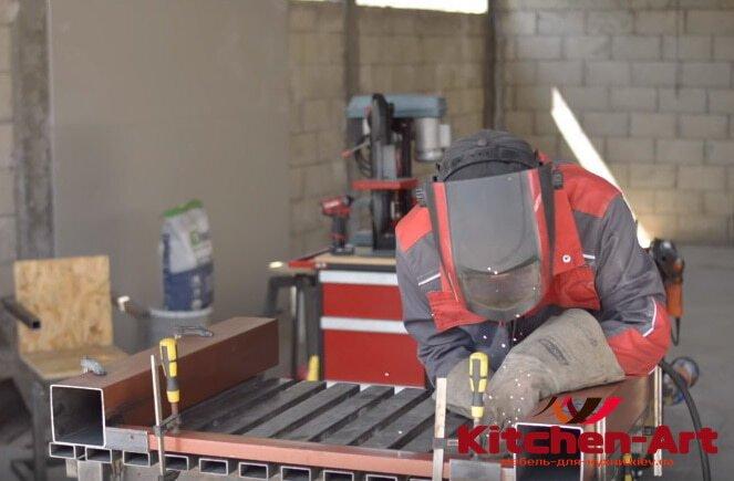 основа мебели лофт из металла на заказ