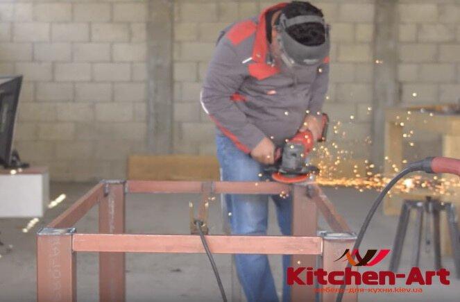 основа мебели лофт из металла на заказ Киев