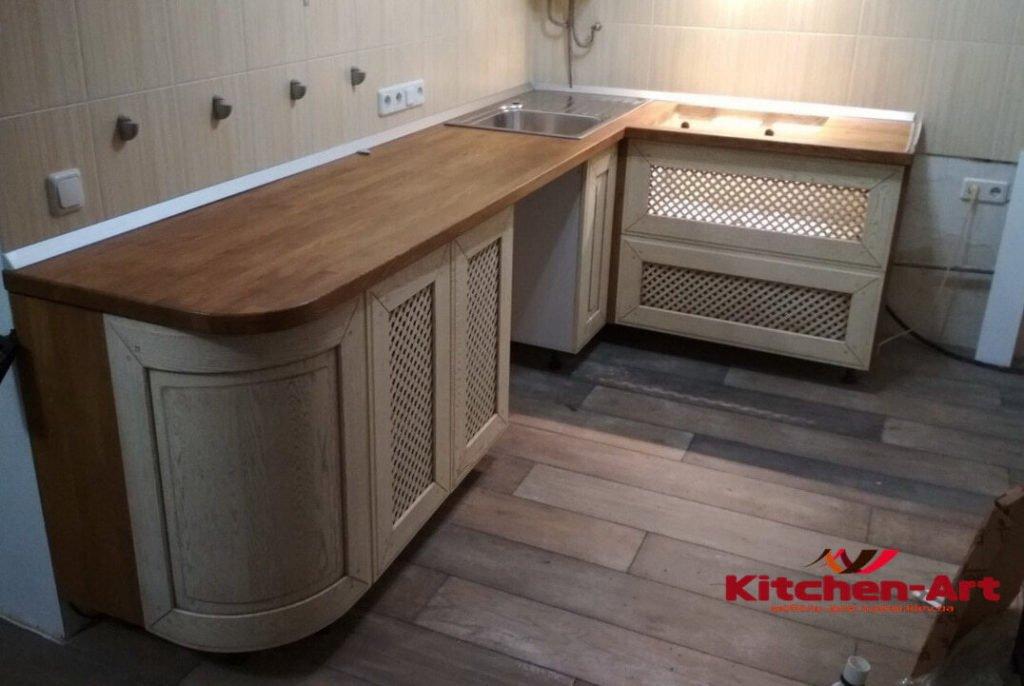 столешница для деревяной кухни в Борисполе